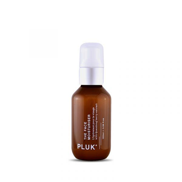 pluk skincare daily moisturiser product.