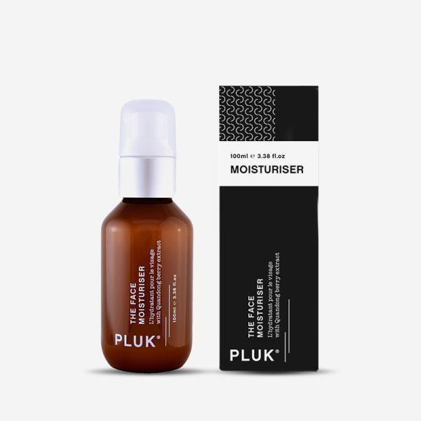 pluk skincare daily moisturiser product